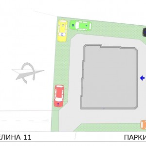 Parking area Detelina 11
