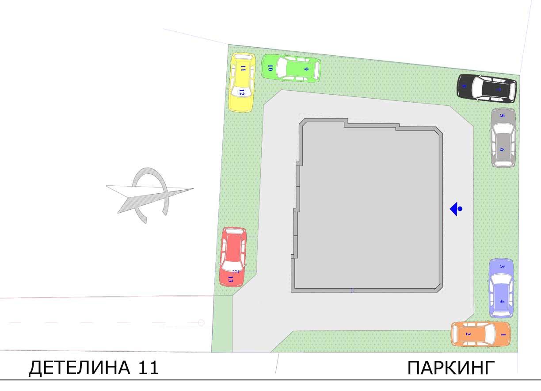 Parking area Detelina 11