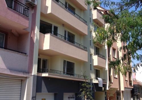 Appartment building in Varna on Anton Nedelchev street