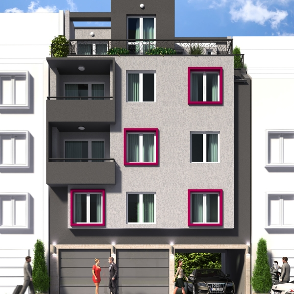 Appartments building Belasica 3