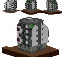 Appartment building Detelina str. #11