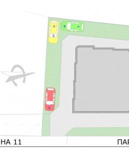 Парковочное место №5 ул. Детелина №11 Варна